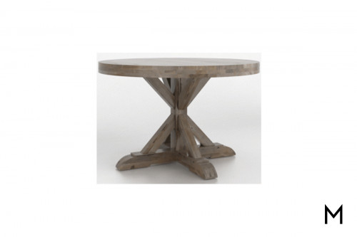 "X-Pedestal 48"" Round Dining Table"