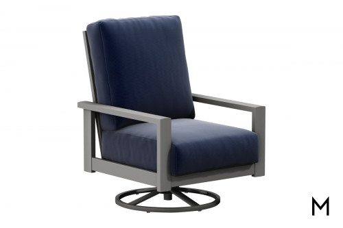 Elements Outdoor Swivel Rocker