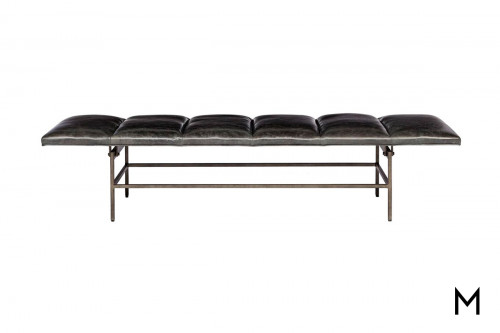 Ardmore Leather Bench