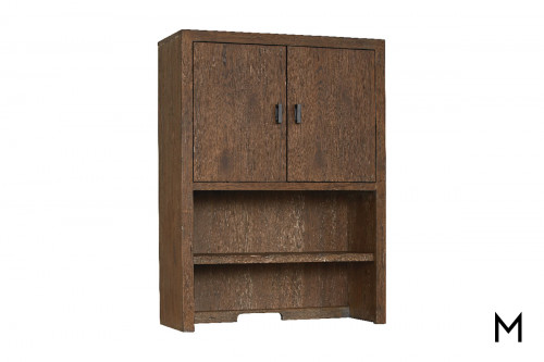 Upper Hutch 2-Door Cabinet