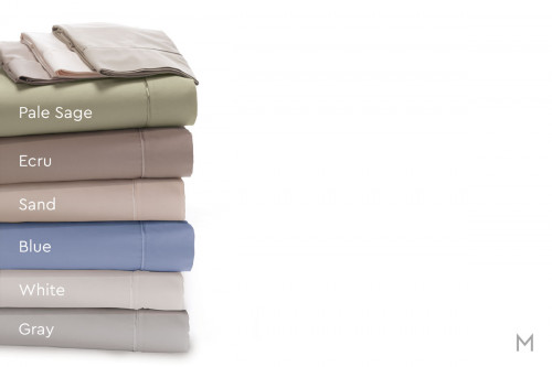 Degree 5 Bamboo Rich Sheet Set - Split King in White