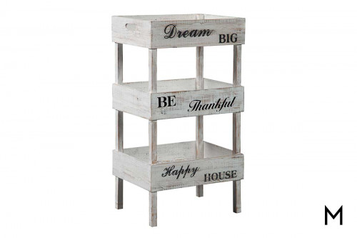Storage Shelf with 3 Shelves