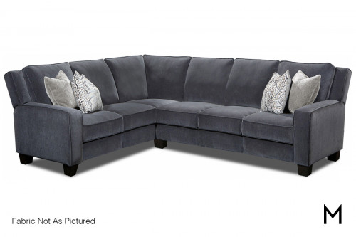 M Collection West End Power Recliner 3 Piece Sectional