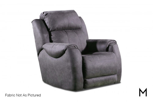 M Collection Casual Power Headrest Recliner