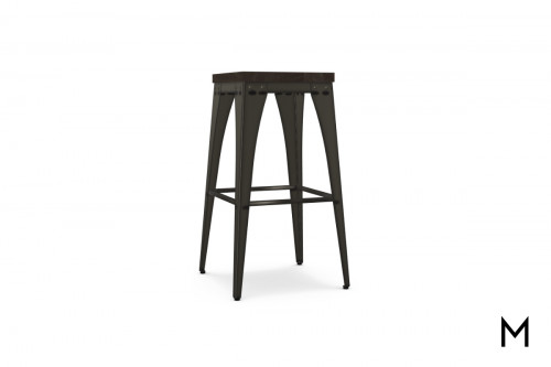 Upright Non-Swivel Bar Stool