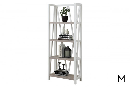 M Collection Cotton Étagère Bookcase
