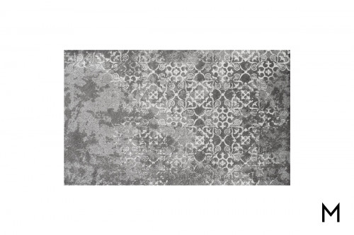 Antiqued Gray Area Rug 8'x11'
