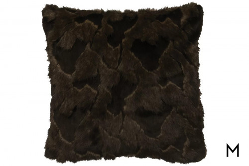 Faux Fur Euro Shams