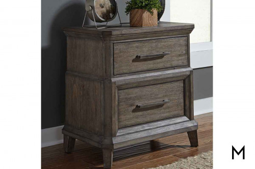 Artisan Prairie 2 Drawer Nightstand
