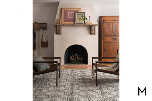 Holloway Grey Area Rug 8'x10'