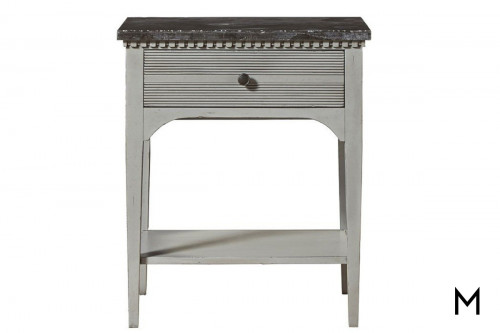 Sojourn Gray Lake Night Table