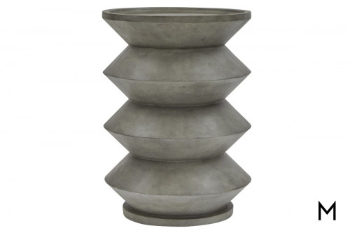 Round Sculptural Accent Table