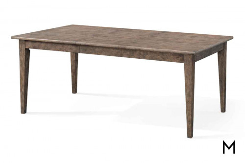 Riverbank Dining Table in Weathered Gray Oak