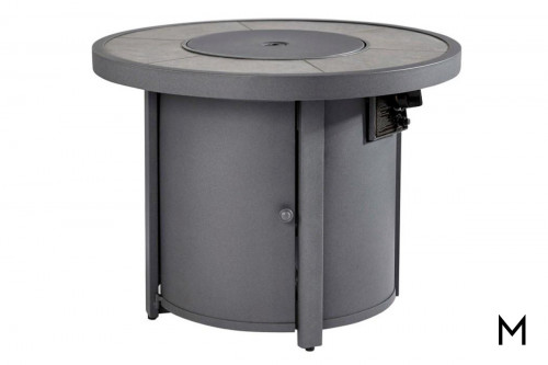 Donnalee Bay Round Fire Pit Table