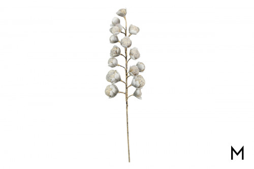 White Artificial Flower Stem