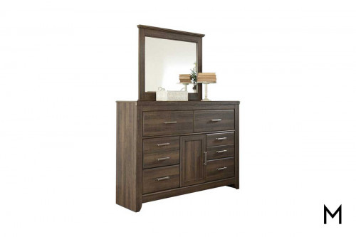 Juararo Mirror Mirror Only - Dresser Sold Separately