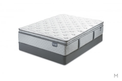 Mattress 1st Graclyn Super Pillow Top Mattress - Queen with Gel-Enhanced Memory Foam