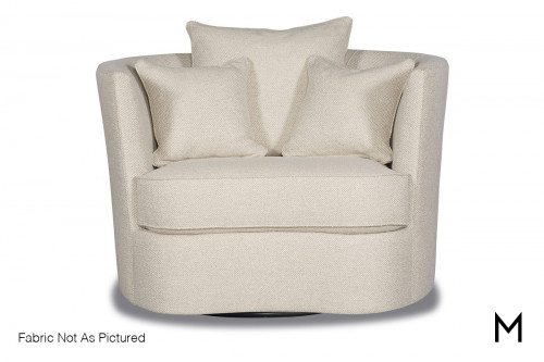 Bruno Swivel Accent Chair