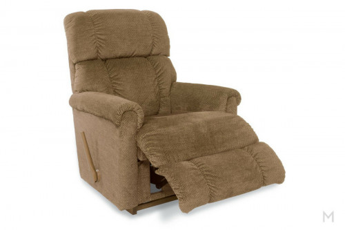 Pinnacle Rocker Recliner in Shona Brown Sugar