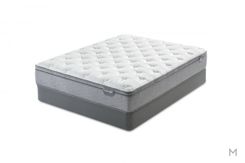 Mattress 1st Dickinson Euro Top Mattress - King with Gel Support Foam
