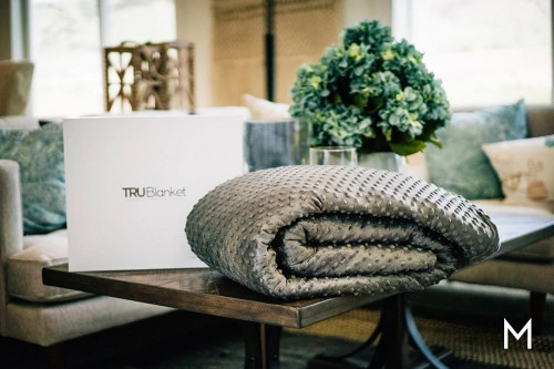 TRUBlanket the Gray Weighted Blanket