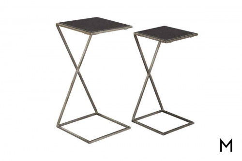 Iron X Nesting Tables