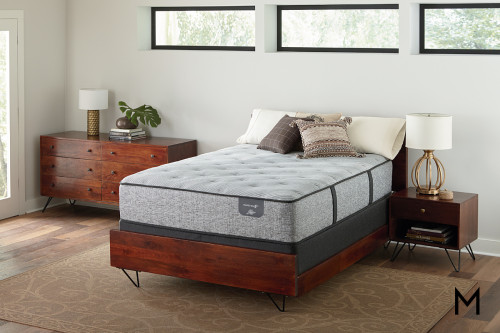 Serta Fountain Hills Plush Hybrid Twin Mattress
