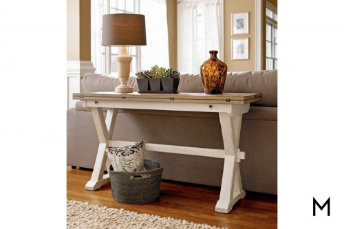 Drop Leaf Garden Sofa Table
