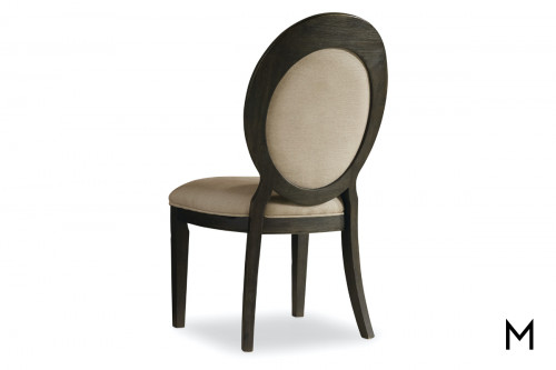 Oval Back Side Dining Chair