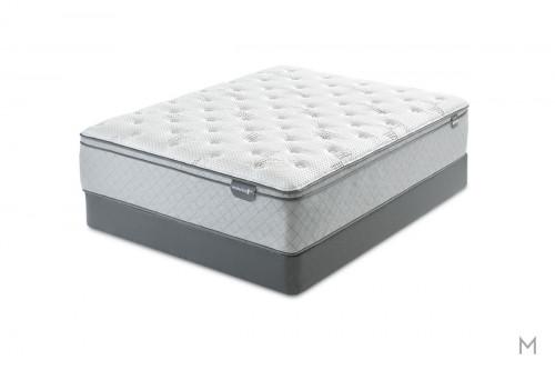 Mattress 1st Harrell Euro Top Mattress - King with Gel-Enhanced Memory Foam