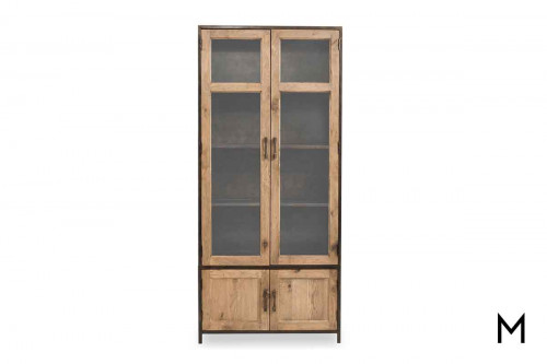 Dominic Tall Cabinet in Oak