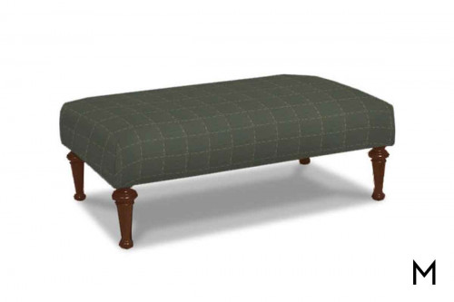 M Collection Farmhouse Ottoman