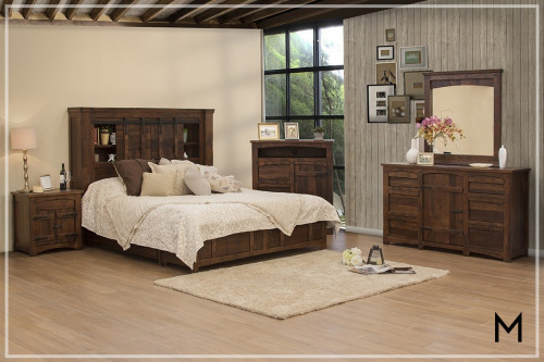 Mezcal 4 Piece Queen Bedroom Set