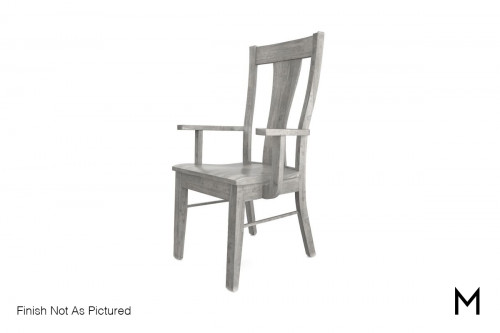 Maple Arm Chair in Autumn Gray