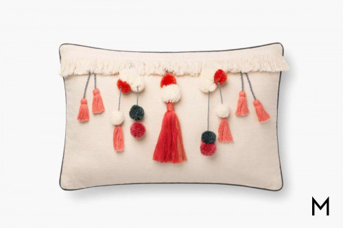 Natural Coral Pillow