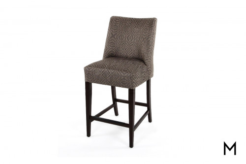 Curved Back Counter Stool