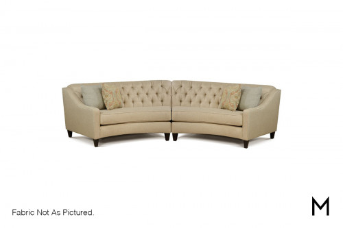 Wedge Two-Piece Sectional Sofa