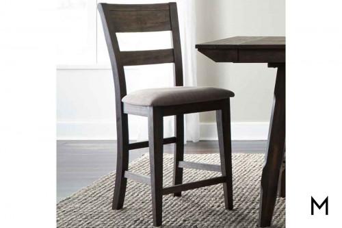 Splat Back Side Chair in Dark Chestnut