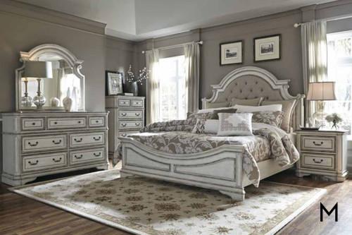 Magnolia Manor King Bed