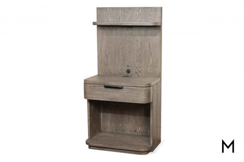 Precision Low Pier Nightstand
