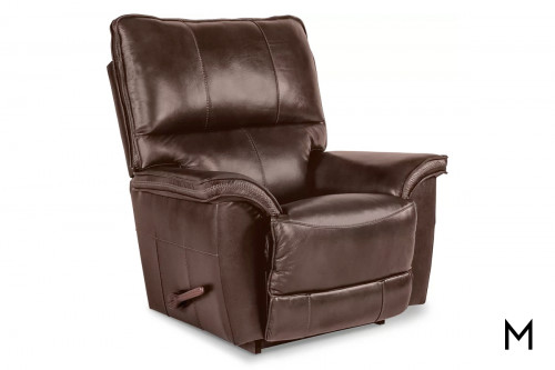 Norris Rocking Recliner in Chestnut