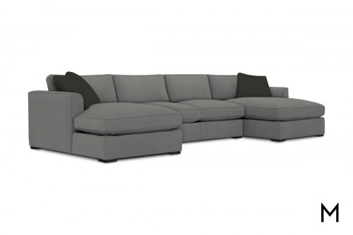 Derby 3 Piece Sectional with 2 Chaise