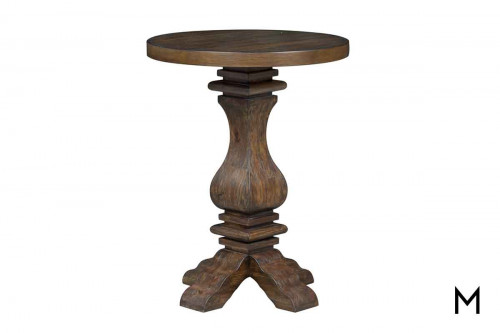 Blaine Accent Table in a Rustic Finish