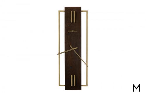 Hardwood II Wall Clock