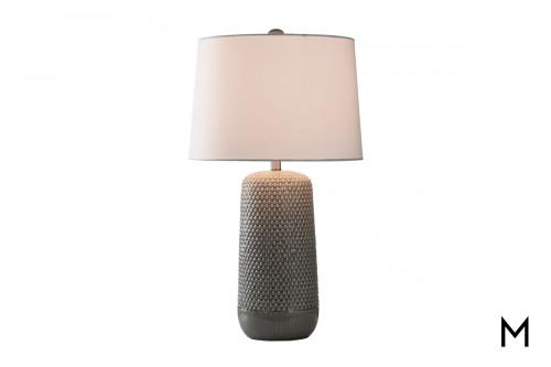 Ceramic Textured Table Lamp