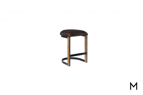 Brewhouse Gathering Stool with Upholstered Seat