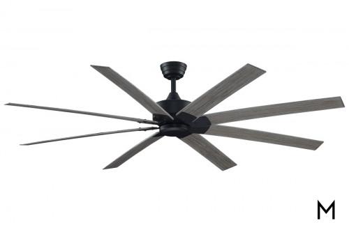 Weathered Wood Indoor Outdoor Ceiling Fan