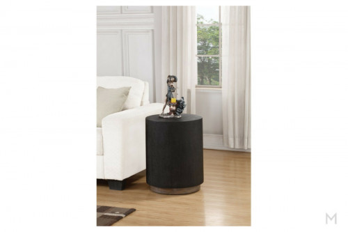Occulus End Table 18""