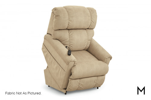 Pinnacle Power Lift Recliner in Shona Granite