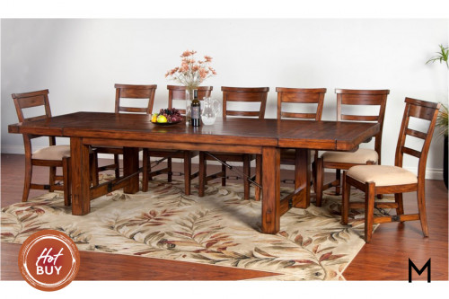 Tuscany 9-Piece Dining Set with Eight Chairs